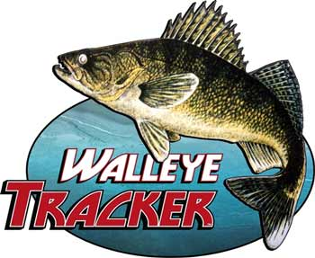Ice Castle Fish House Walleye Tracker Logo