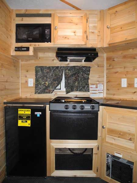 refrigerator and stove in red lake jr