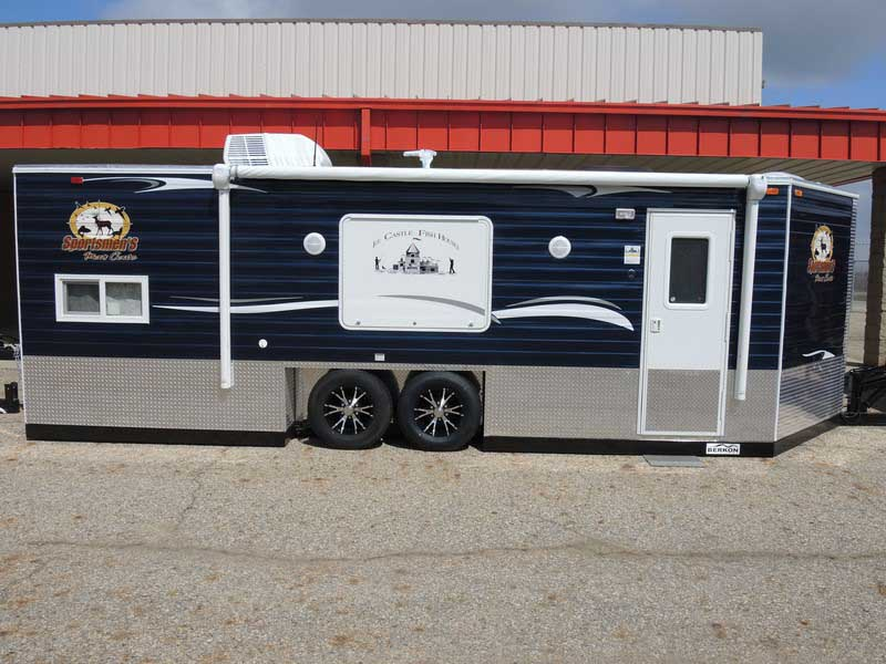 Sportsmens' man cave RV