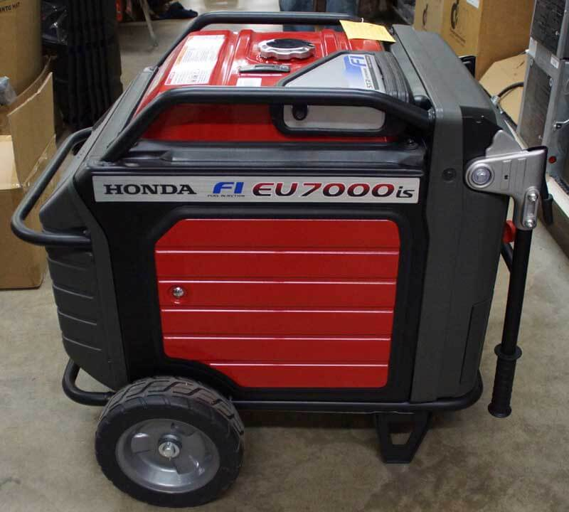 Honda eu7000is generator milaca unclaimed freight for Castle honda service