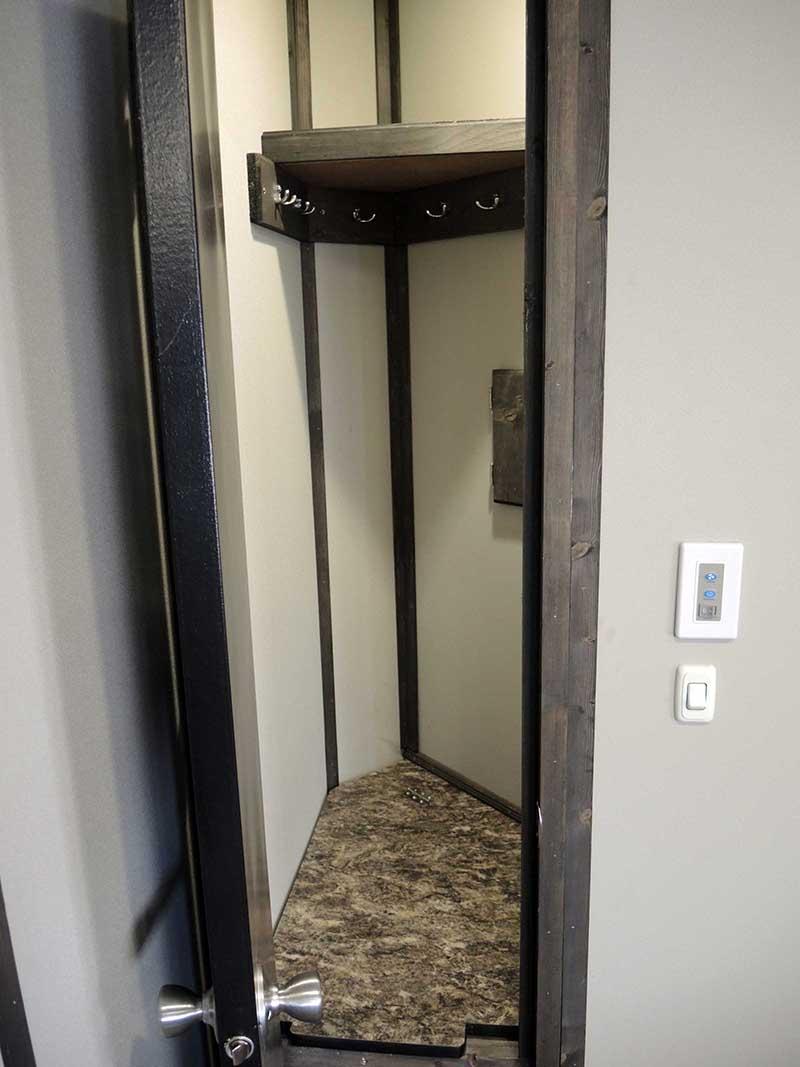 Black Knight Ice Castle Fish House Interior Closet