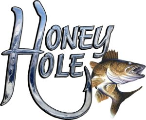 Ice Castle Fish House Honey Hole Logo