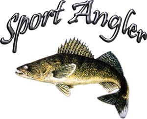Ice Castle Fish House Sport Angler Logo