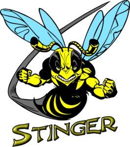 Ice Castle Fish House Stinger Logo