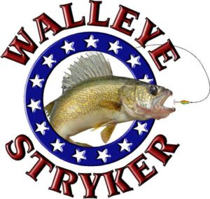 Ice Castle Fish House Walleye Stryker Logo