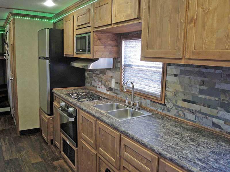 Eagle EXT Ice Castle Fish House Kitchen