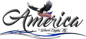 America Where Eagles Fly Logo