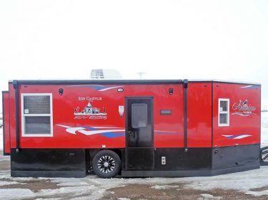 America RV 8' x 22' Ice Castle Fish House