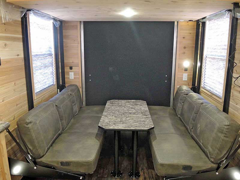 Ghost Rider Toy Hauler Dining Table - Ice Castle Fish House