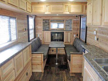 Hybrid Extreme II RV Kitchen Table Area