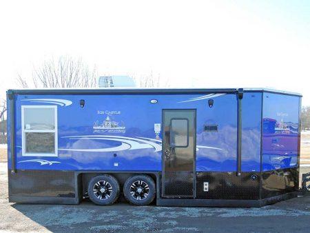 Hybrid RV 8' X 18' Ice Castle Fish House